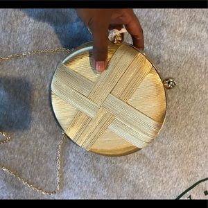 Brand new gold purse
